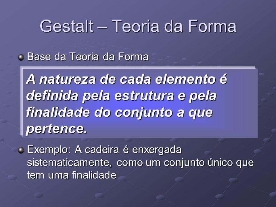 Gestalt – Teoria da Forma