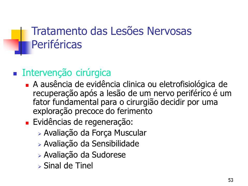 Tratamento das Lesões Nervosas Periféricas