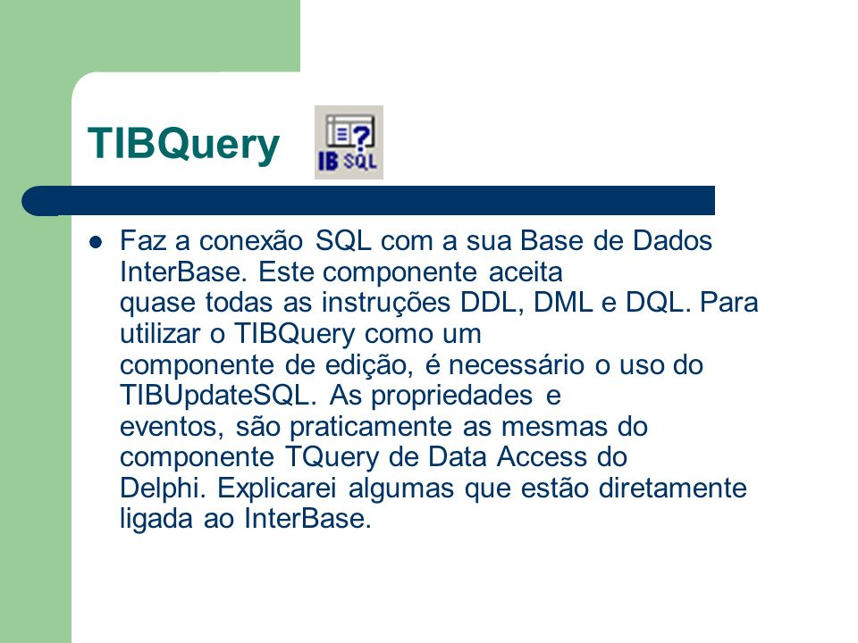 TIBQuery