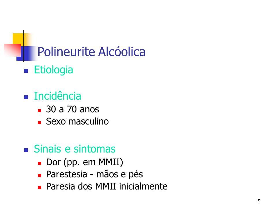 Polineurite Alcóolica