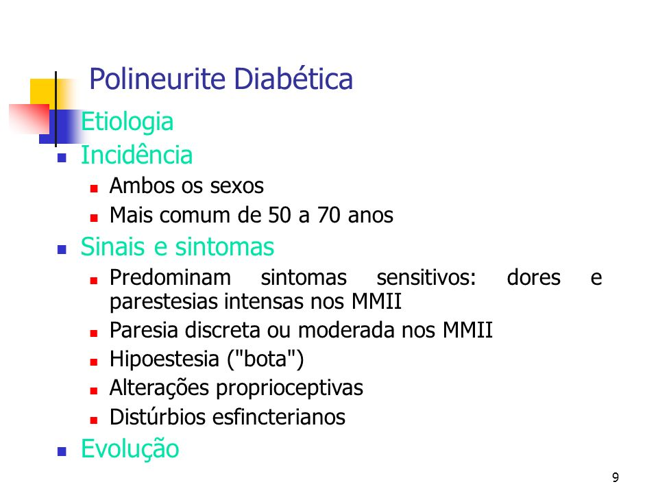Polineurite Diabética