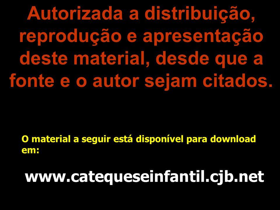 Autorizada a distribuição, reprodução e apresentação deste material, desde que a fonte e o autor sejam citados.
