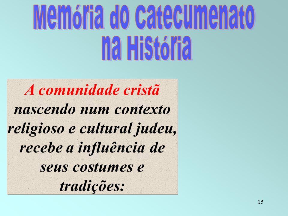 Memória do Catecumenato