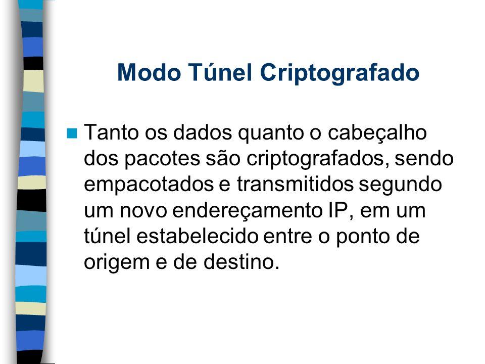 Modo Túnel Criptografado
