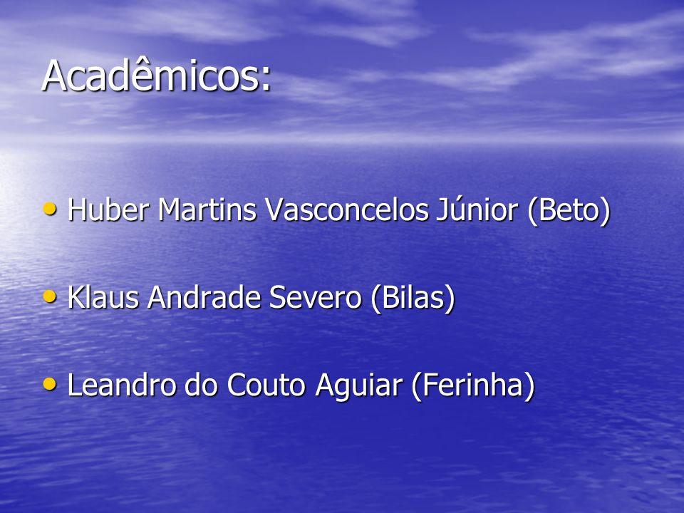 Acadêmicos: Huber Martins Vasconcelos Júnior (Beto)