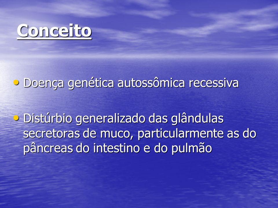 Conceito Doença genética autossômica recessiva
