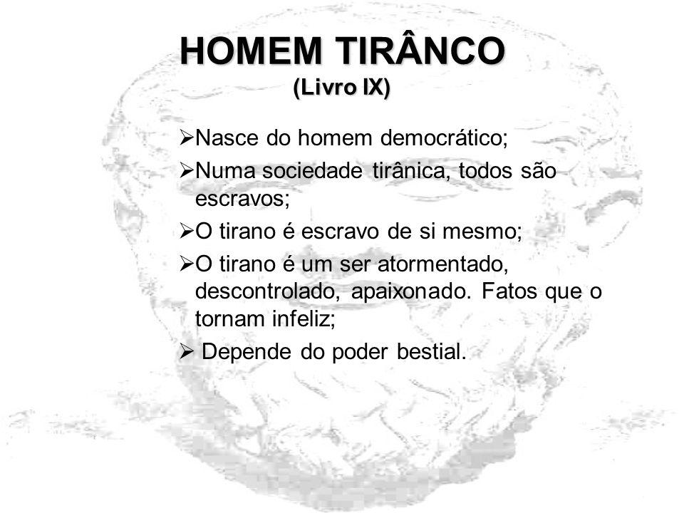 HOMEM TIRÂNCO (Livro IX)