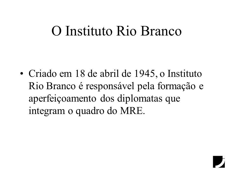 O Instituto Rio Branco