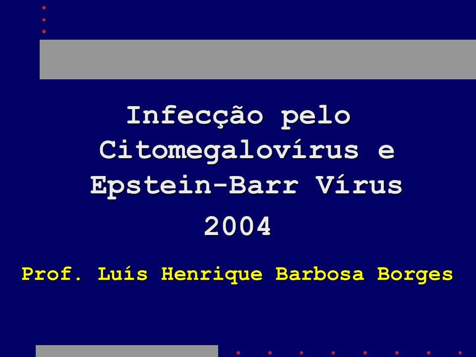 Infecção pelo Citomegalovírus e Epstein-Barr Vírus