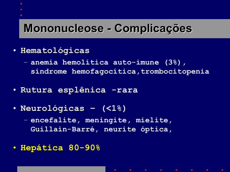Mononucleose - Complicações