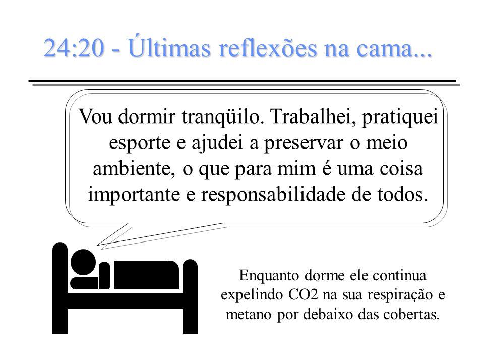 24:20 - Últimas reflexões na cama...