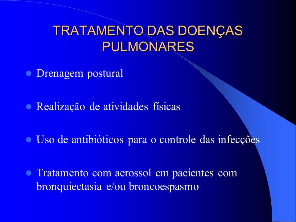 TRATAMENTO DAS DOENÇAS PULMONARES
