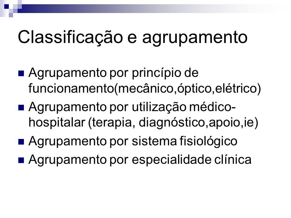 Classificação e agrupamento