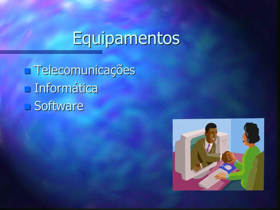 Equipamentos Telecomunicações Informática Software