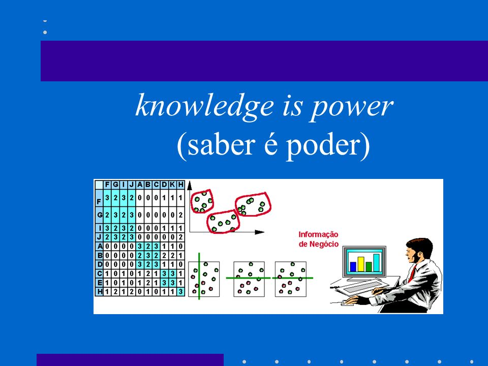knowledge is power (saber é poder)