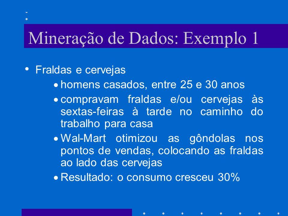 Mineração de Dados: Exemplo 1