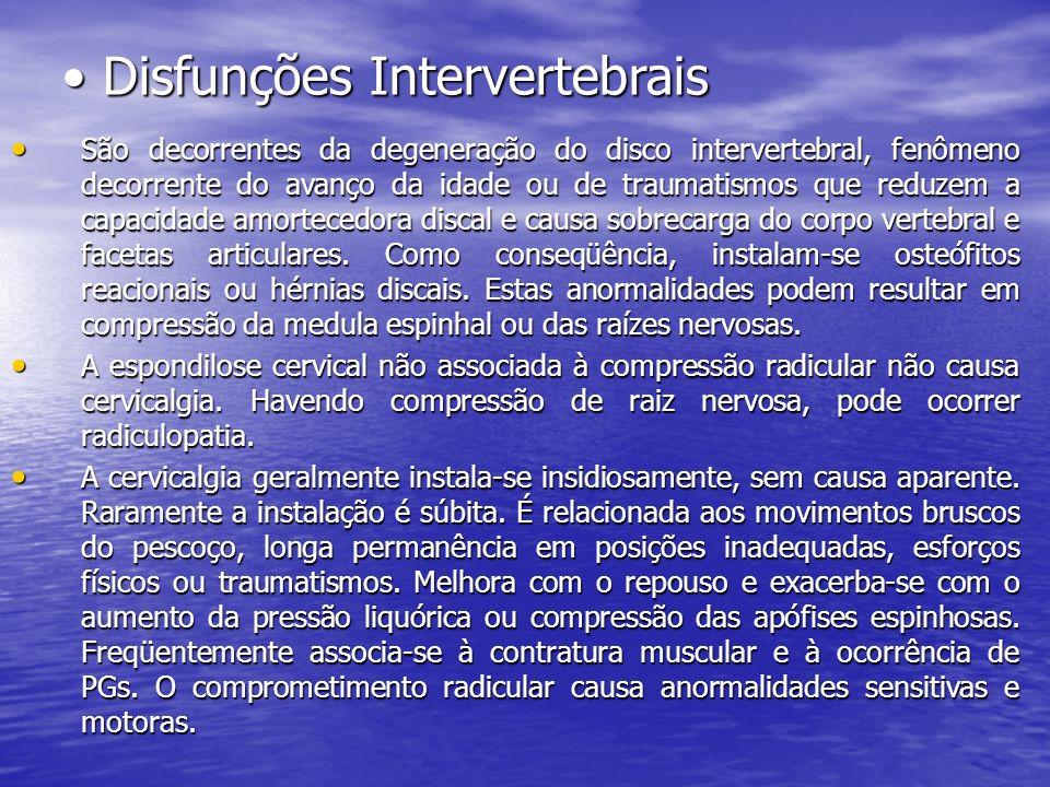 Disfunções Intervertebrais
