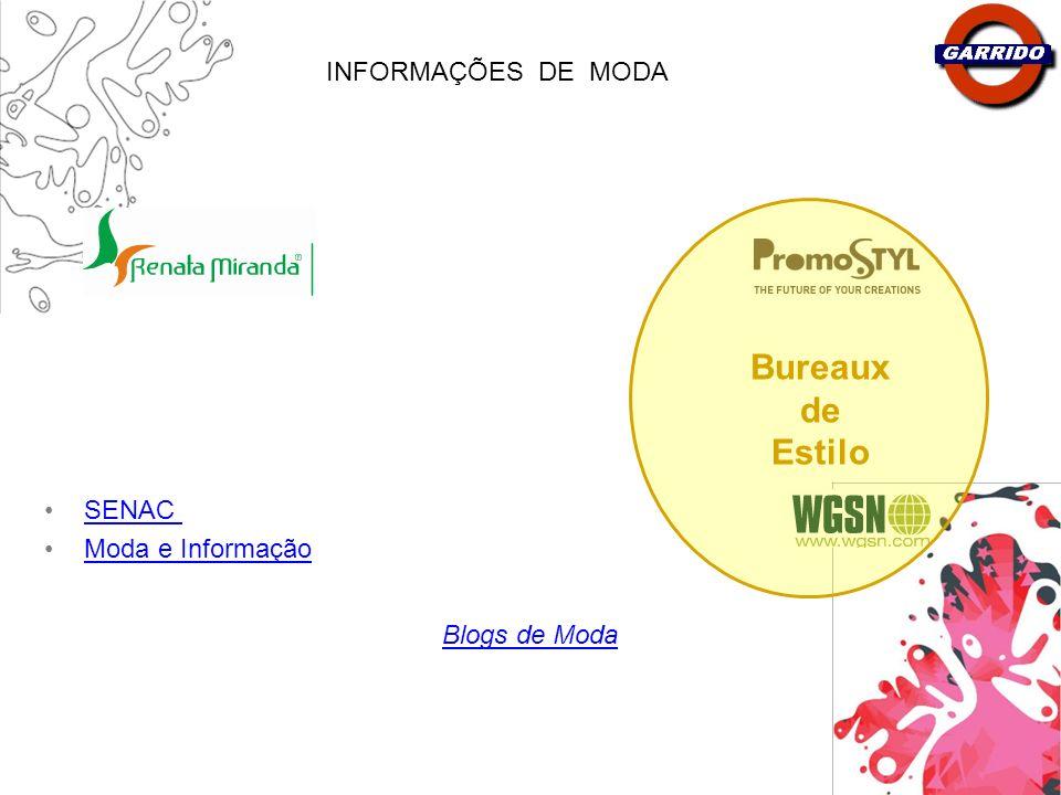 Bureaux de Estilo INFORMAÇÕES_DE_MODA SENAC Moda e Informação