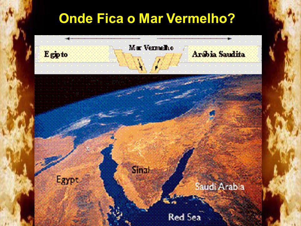 Onde Fica o Mar Vermelho