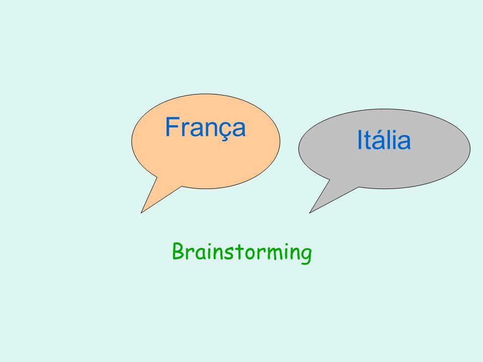 França Itália Brainstorming