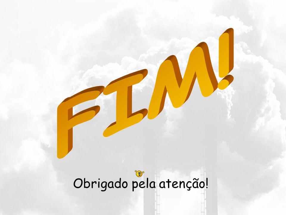 FIM! Obrigado pela atenção!