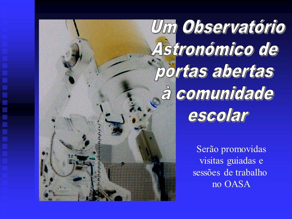 Um Observatório Astronómico de portas abertas à comunidade escolar