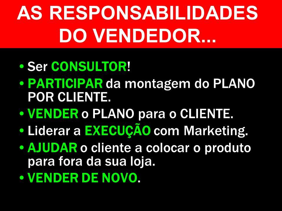 AS RESPONSABILIDADES DO VENDEDOR...