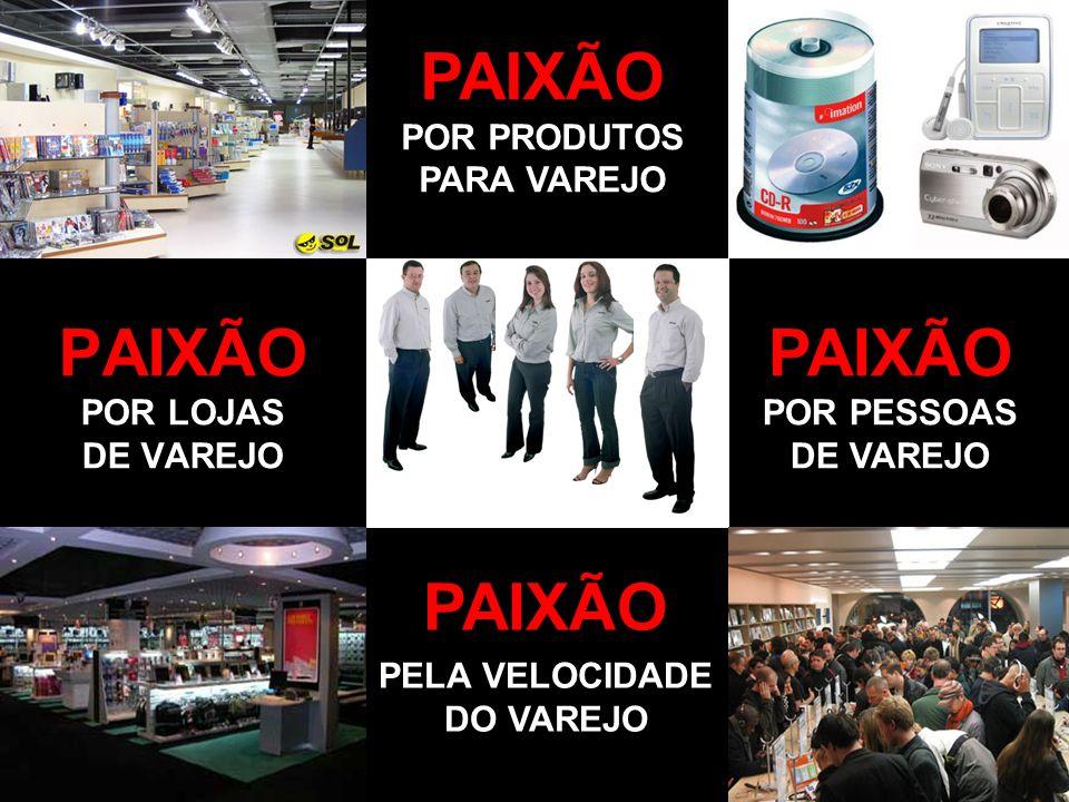 PAIXÃO POR LOJAS DE VAREJO
