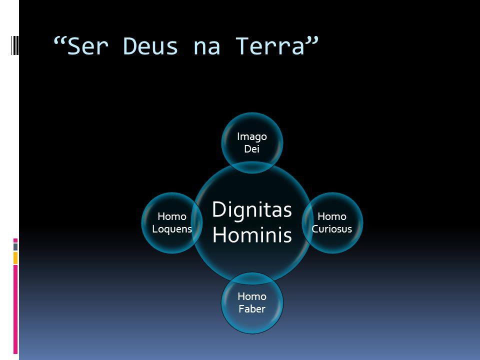 Ser Deus na Terra Dignitas Hominis Imago Dei Homo Curiosus