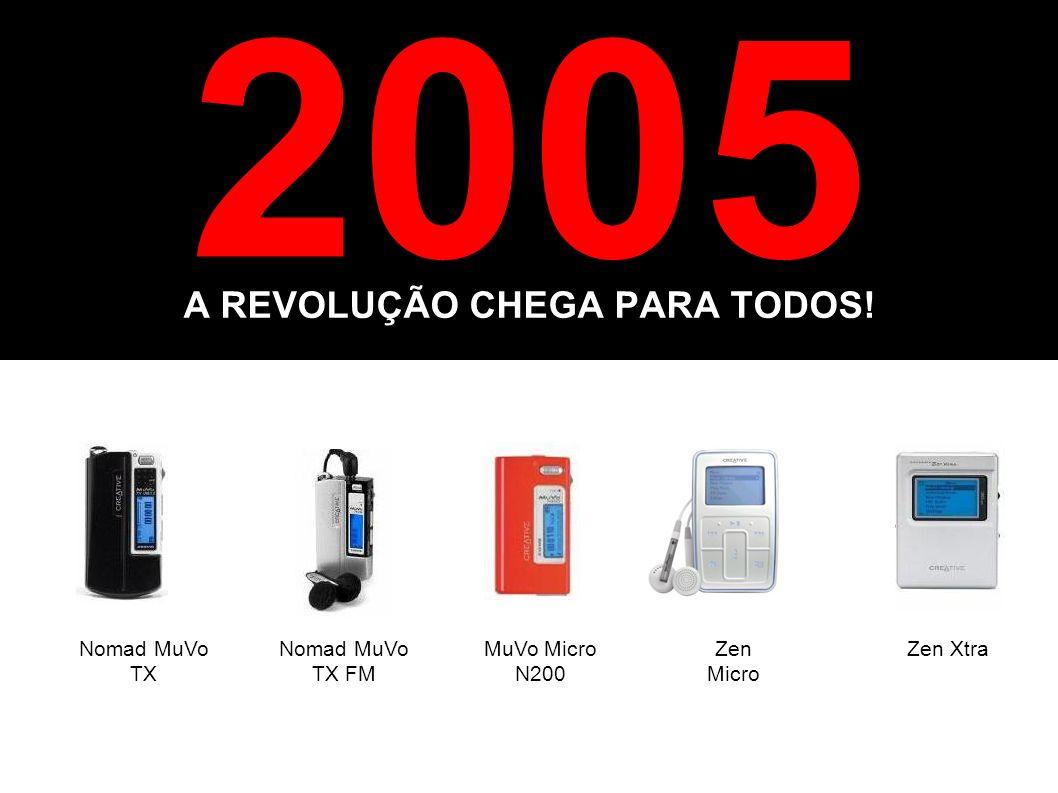 A REVOLUÇÃO CHEGA PARA TODOS!