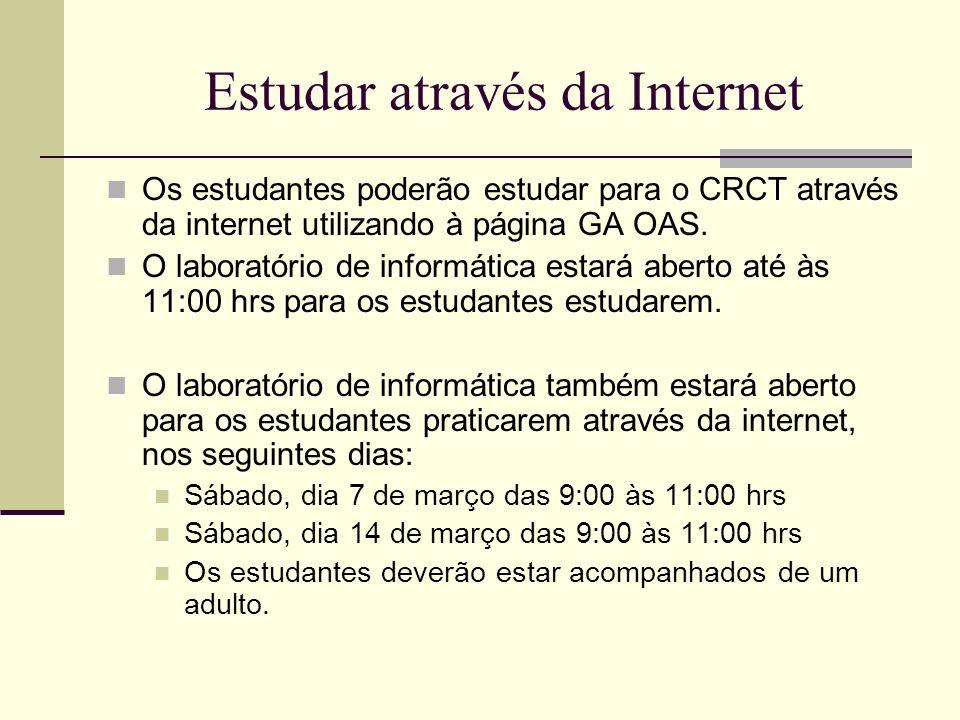Estudar através da Internet