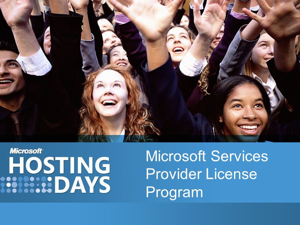 Microsoft Services Provider License Program