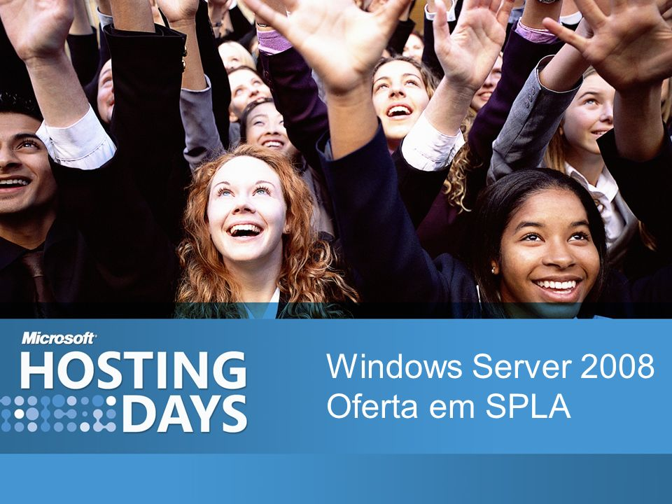Windows Server 2008 Oferta em SPLA