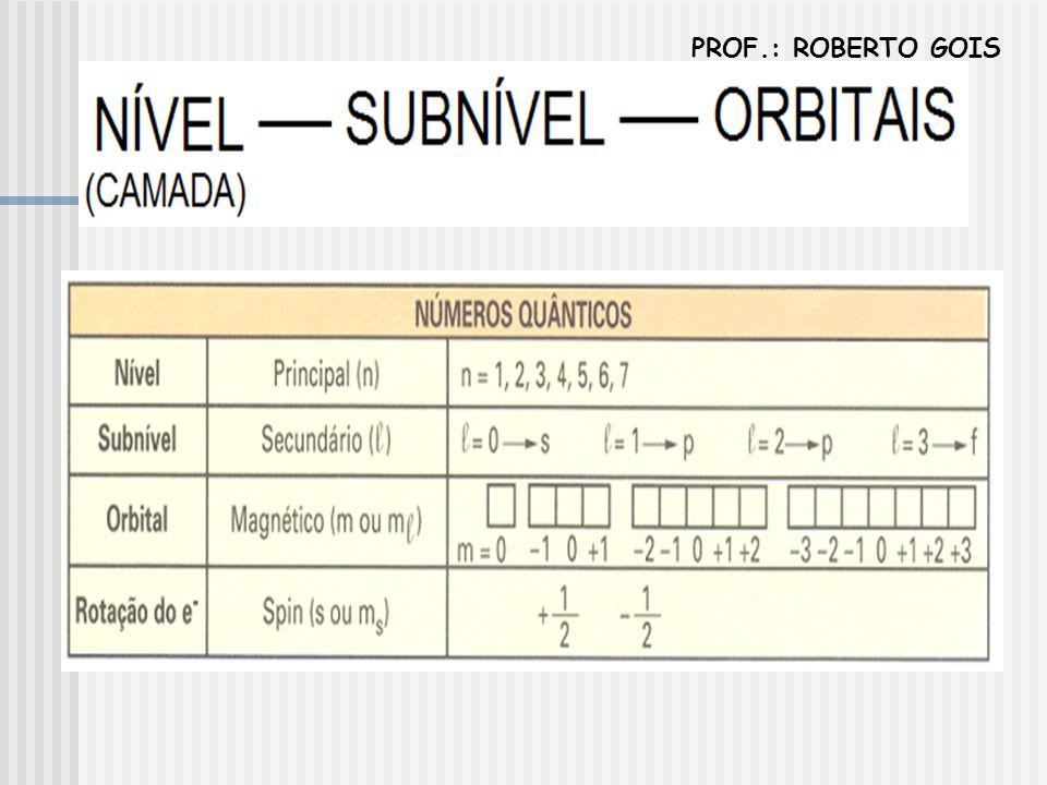 PROF.: ROBERTO GOIS