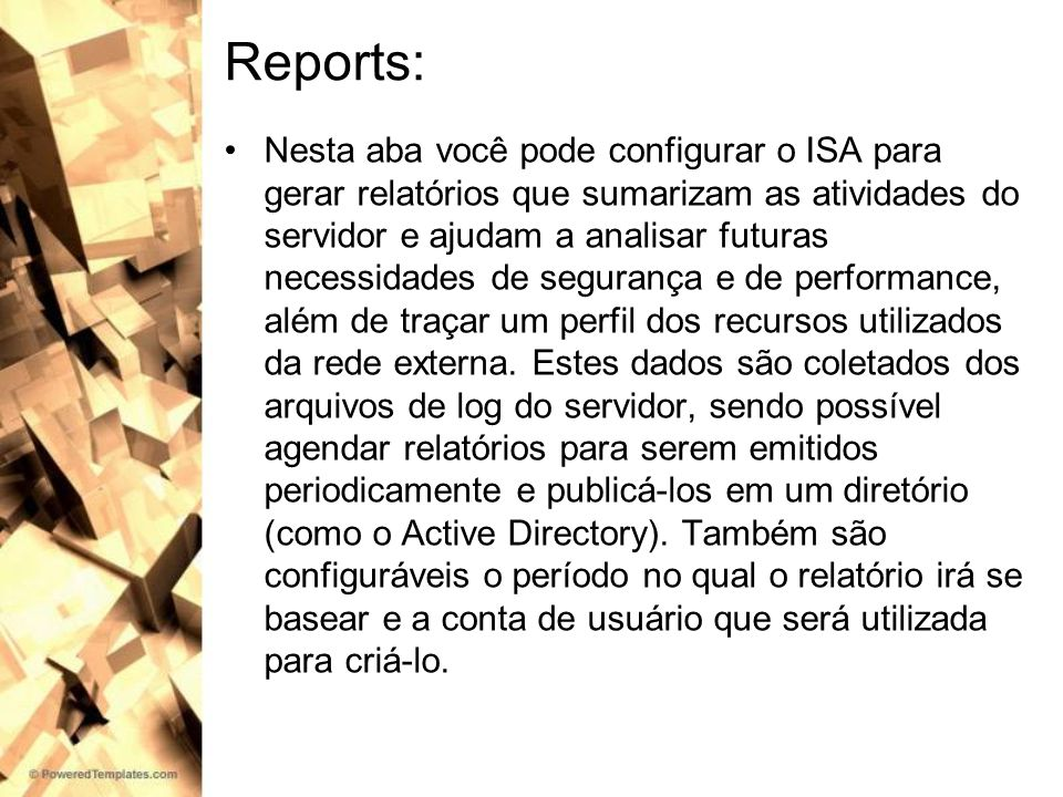 Reports: