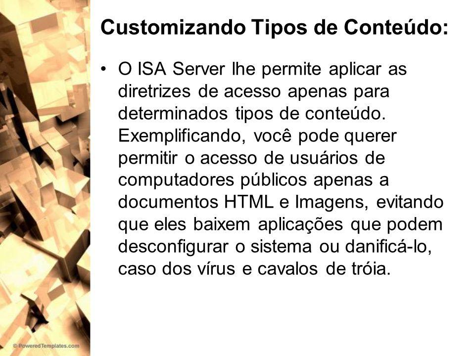 Customizando Tipos de Conteúdo: