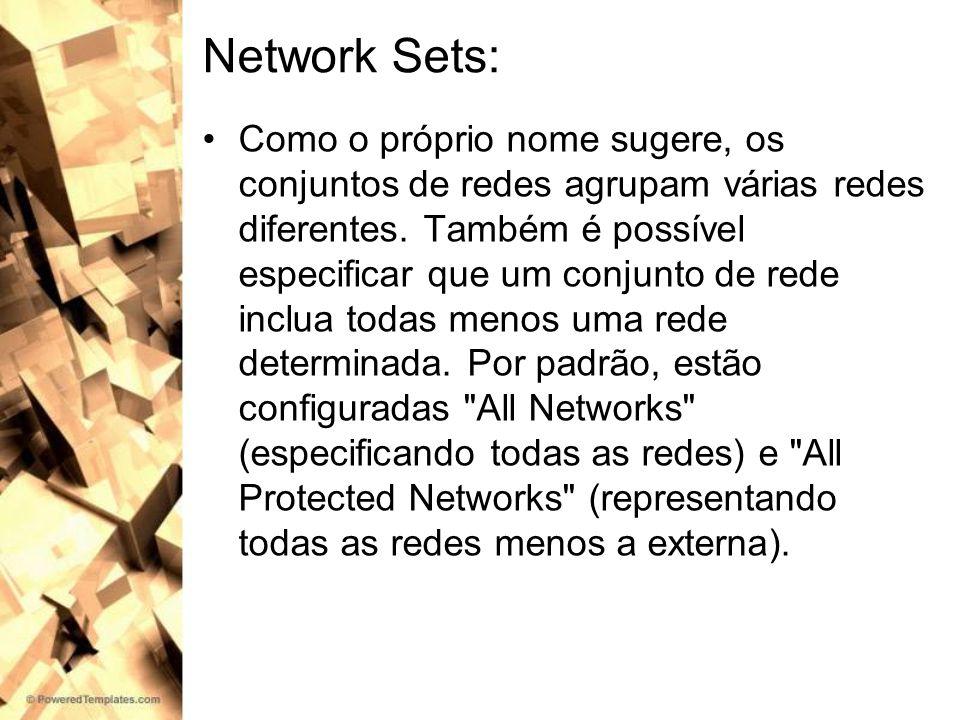 Network Sets: