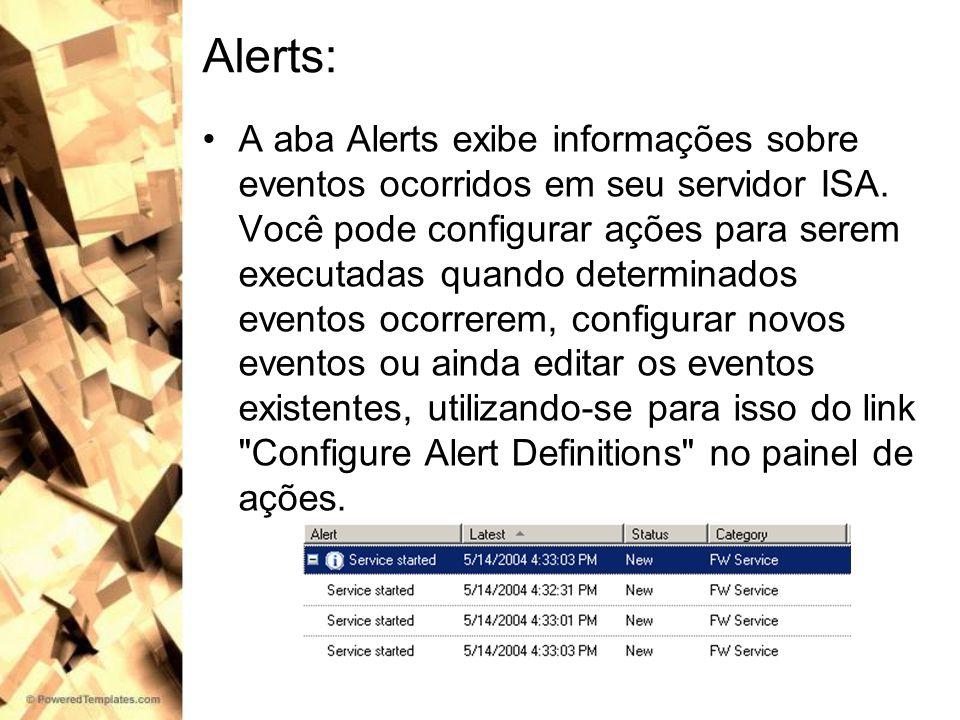 Alerts: