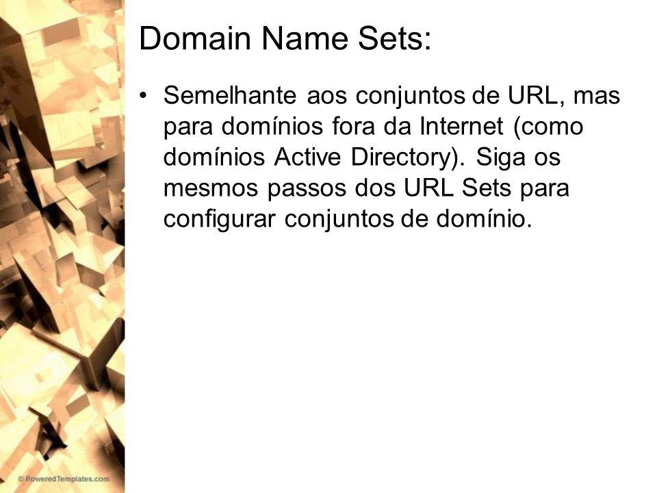 Domain Name Sets: