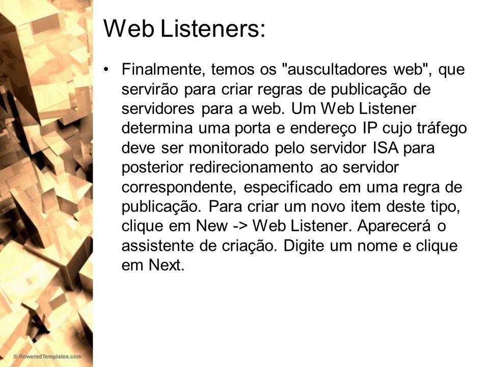 Web Listeners: