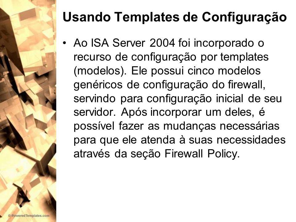 Usando Templates de Configuração