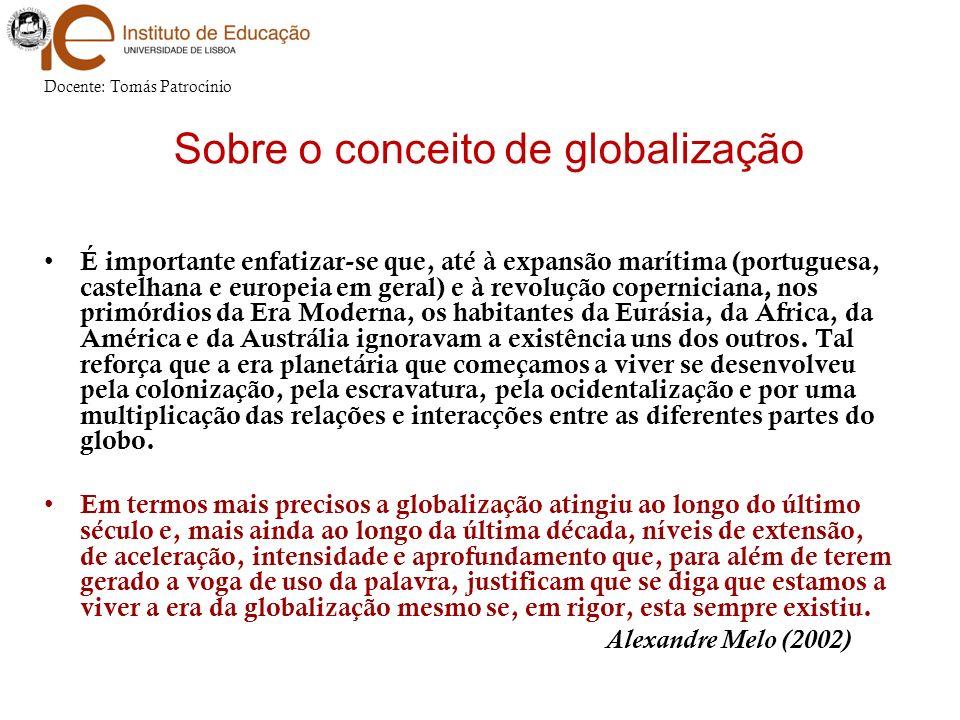 Sobre o conceito de globalização