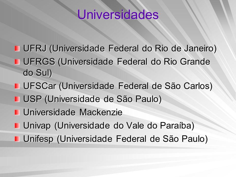 Universidades UFRJ (Universidade Federal do Rio de Janeiro)