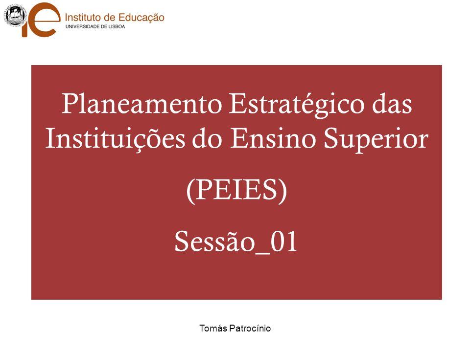 Planeamento Estratégico das Instituições do Ensino Superior