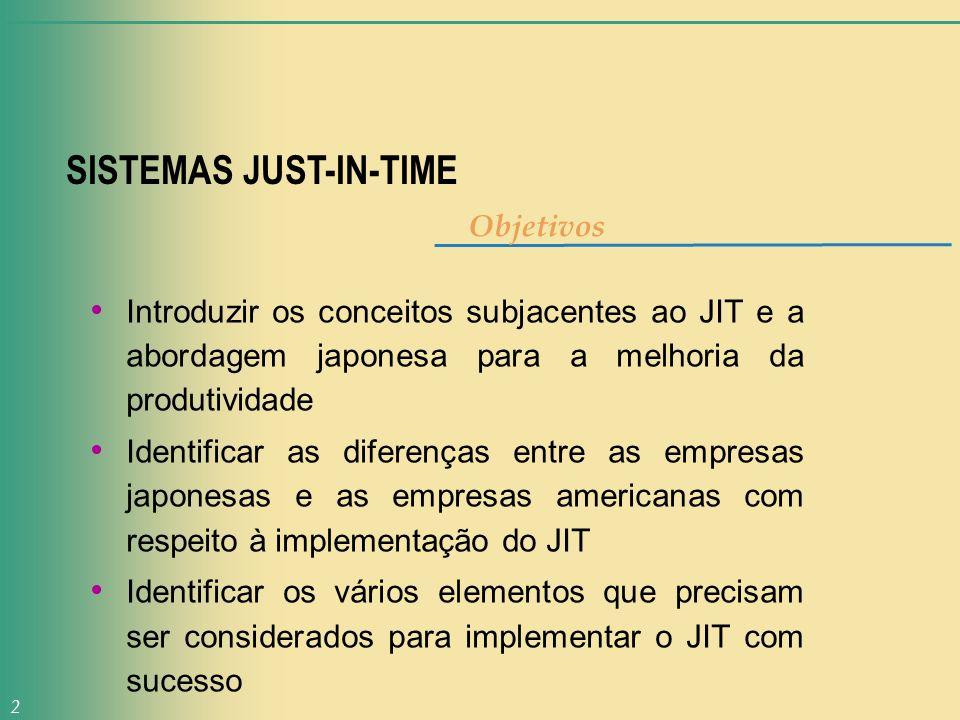 SISTEMAS JUST-IN-TIME