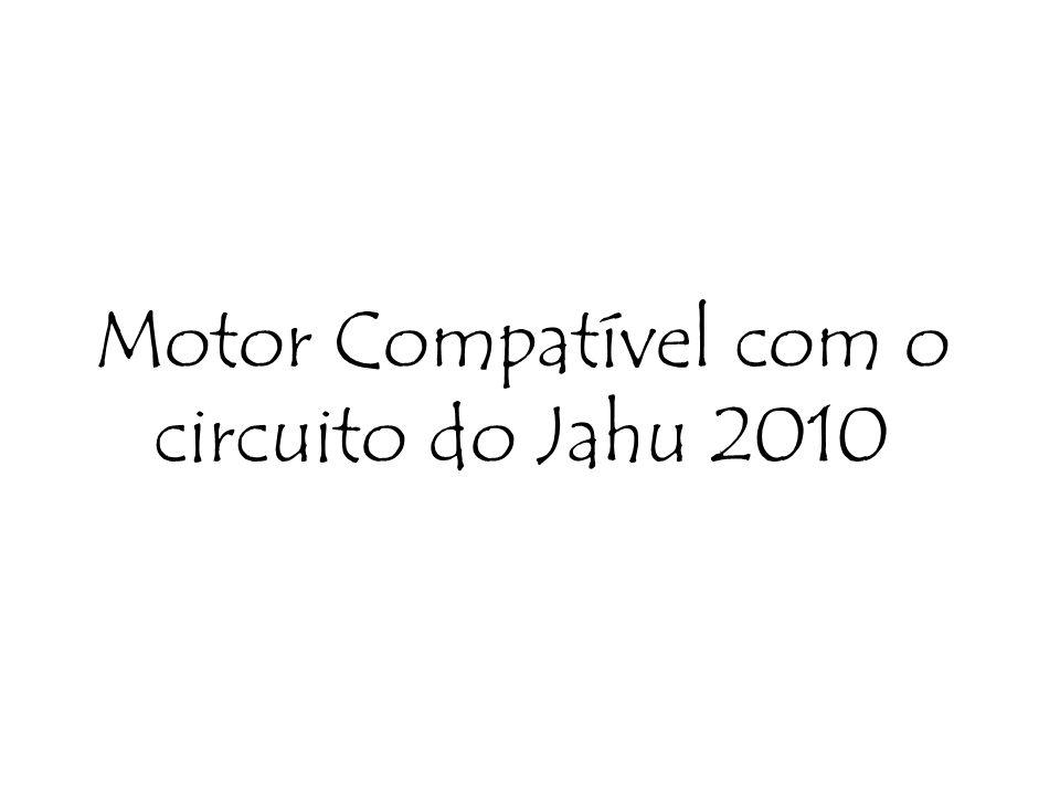 Motor Compatível com o circuito do Jahu 2010