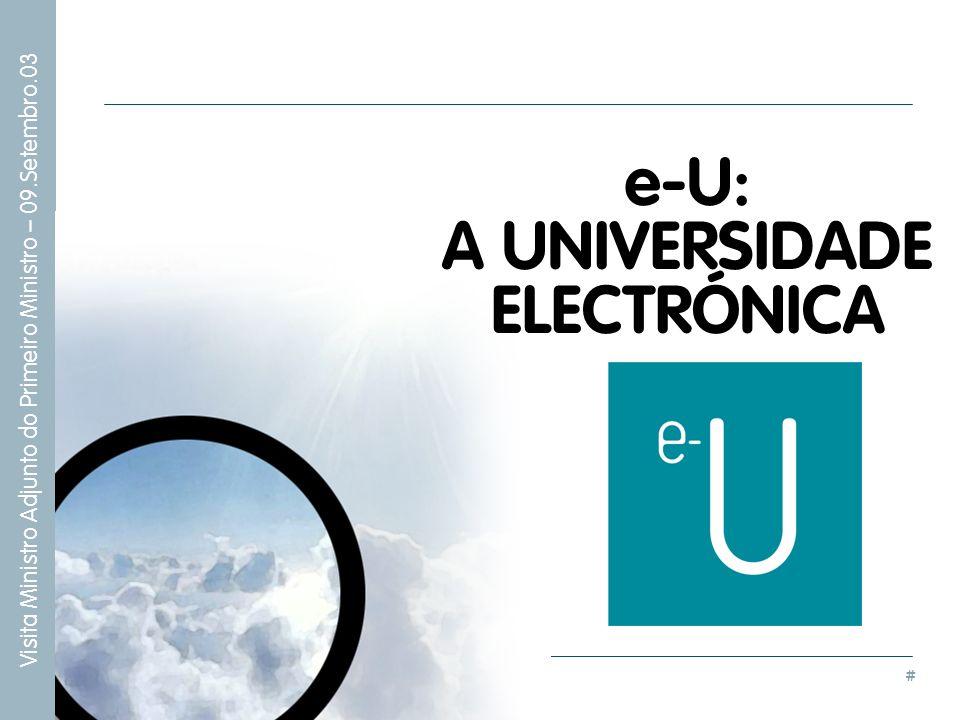 A UNIVERSIDADE ELECTRÓNICA