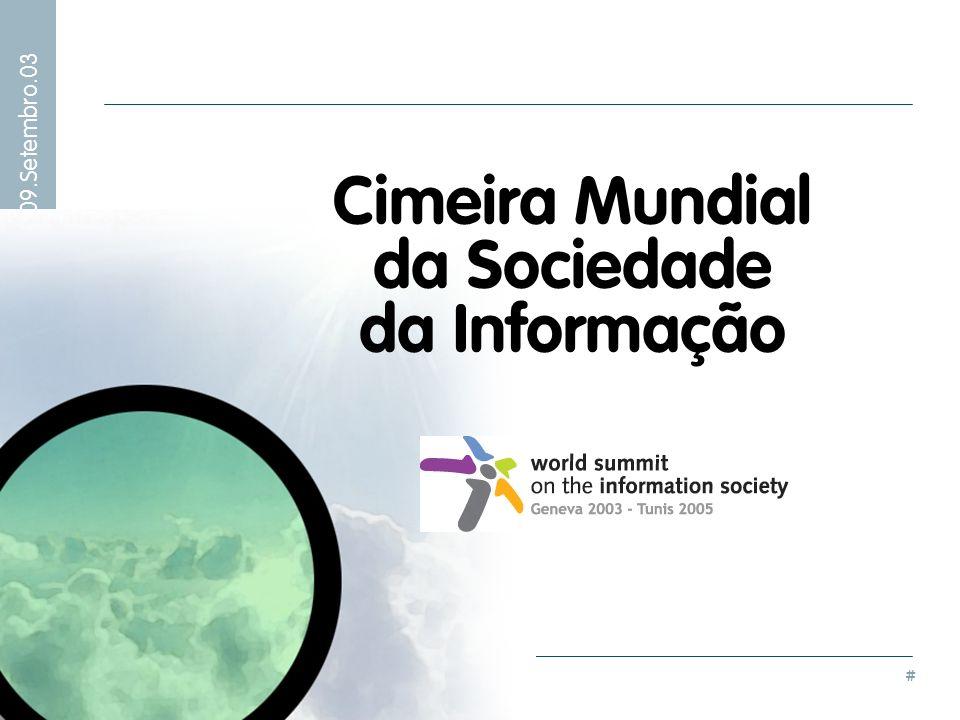 Cimeira Mundial da Sociedade da Informação