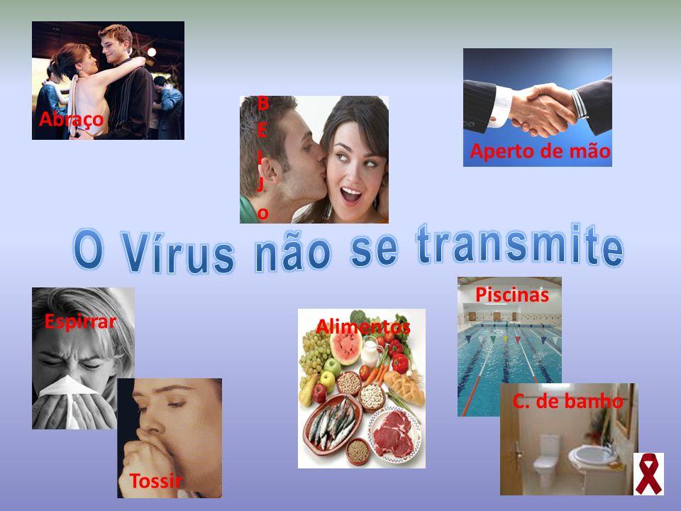 O Vírus não se transmite