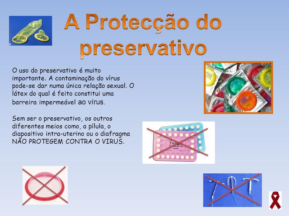 A Protecção do preservativo